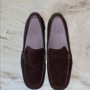 Cole Haan Waterproof Suede Loafers size 7.5 AA